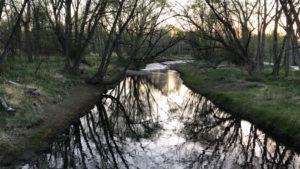 Calm Clear Creek, Colorado